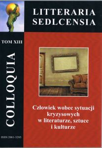 COLLOQUIA LITTERARIA SEDLCENSIA - Tom XIII